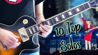 Top 10 Guitar Solos Of Each Decade - Part 1. 80s