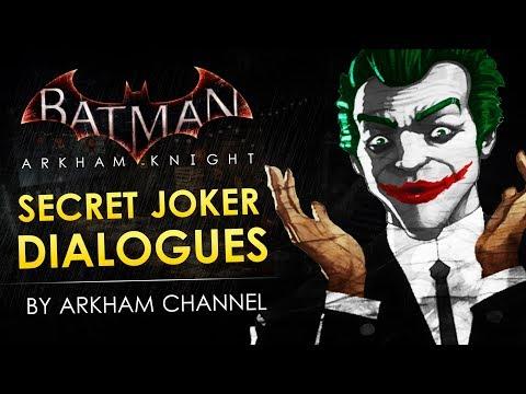 Batman: Arkham Knight –  Secret Joker Dialogues
