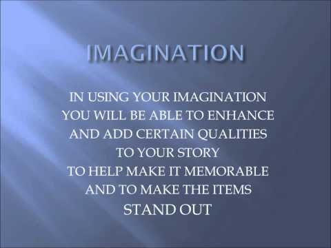 HOW TO IMPROVE YOUR MEMORY AND IMAGINATION - PART 2 of 3 ( THE TRICK)