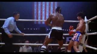 """Rocky 3. Rocky Balboa Vs Clubber Lang....""""You Aint Nothing""""....  Final Fight  Scene from Rocky III ."""