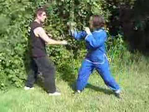 One Bagua Technique vs. Jab Image 1