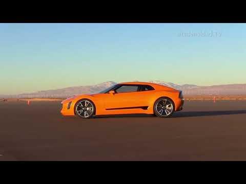 Kia GT4 Stinger: Los coreanos se la juegan con un súper carro deportivo