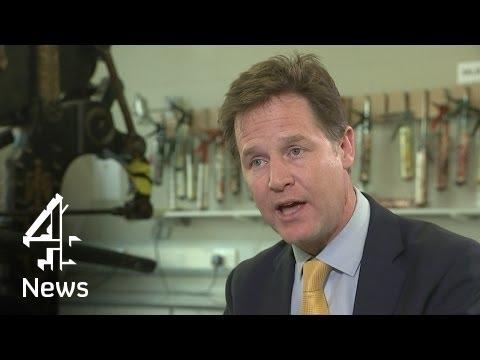 Nick Clegg speaks to Jon Snow on migrants, Nigel Farage and tuition fees