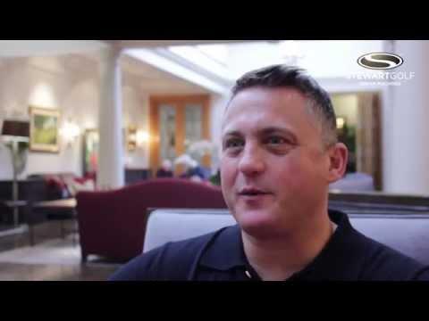 Darren Gough talks about his love of his Stewart Golf trolley