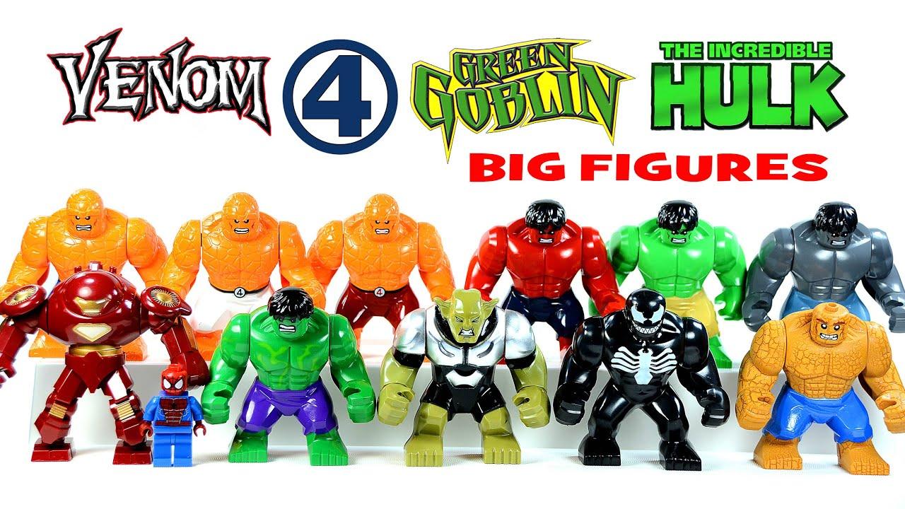 Big Iron Man vs Hulk Hulk The Thing Iron Man