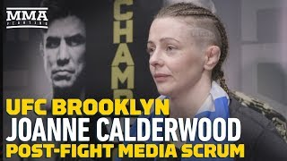 UFC Brooklyn: Joanne Calderwood Responds To Jessica Eye: 'I Just See Excuses'
