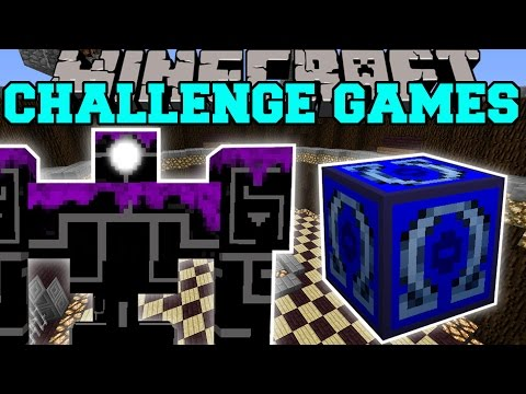 Minecraft: ROBO POUNDER CHALLENGE GAMES - Lucky Block Mod - Modded Mini-Game