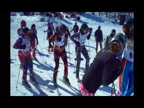 CMSC A-Hill Women Chicken Dance on Skis Video