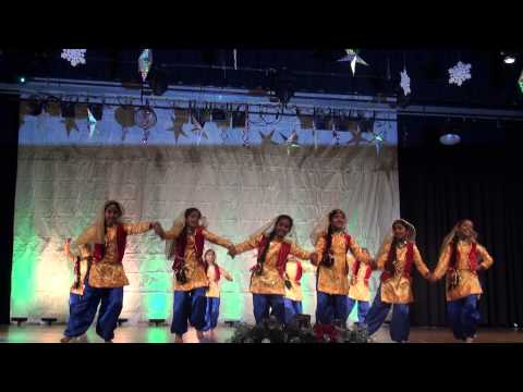 KCS Jingle Bells 2012 - Mallu Sing - Chamak Cham Cham dance