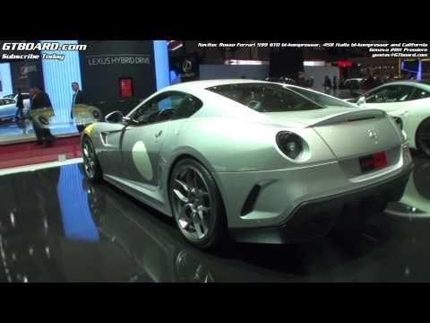 Novitec Rosso Ferrari 599 GTO bikompressor. 458 Italia bikompressor