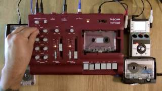TAPE LOOP DRONECHESTRA | LIVE AMBIENT 4 TRACK TAPE LOOPING