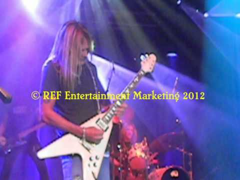 CARLOS CAVAZO does RATT Round&Round Part 6 Las Vegas Copyright REF Entertainment Marketing 2012