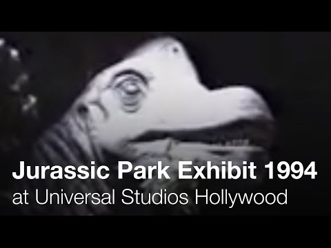 Jurassic Park: Behind the Scenes - 1994 - Universal Studios Hollywood