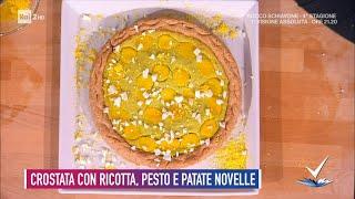 Sorelle Landra - Crostata con ricotta, pesto e patate novelle - Detto Fatto 24/03/2021