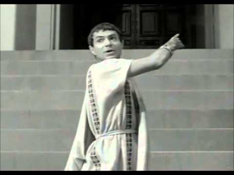 Brutus Speech at Caesar's funeral