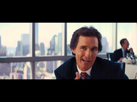 Wolf Of Wallstreet Matthew McConaughey [FULL SCENE]