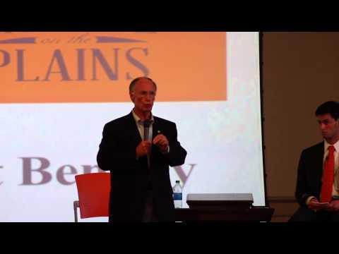 Gov. Robert Bentley speaks at Capitol on the Plains