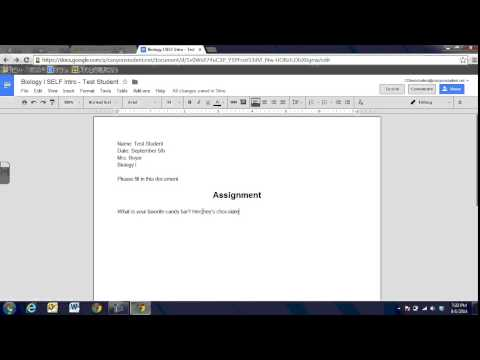 Google Classroom STUDENT Intro