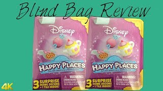 Disney Shopkins Happy Places Mystery Pack Blind Box Review