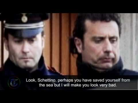 Costa Concordia coast guard tape: Get back on board Captain Schettino!