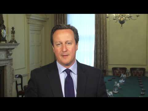 Pride 2014: message from David Cameron