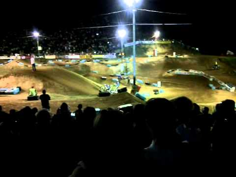 Supercross a la bosse de bretagne freestyle 2014