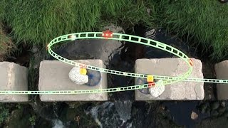 Waterfall Marble Run