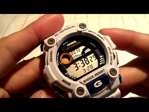 Casio G-Shock Watch Review - Model: G7900A-7. Rescue White Edition Watch