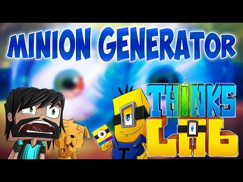Minecraft Mods : Think's Lab - The Minion Generator!