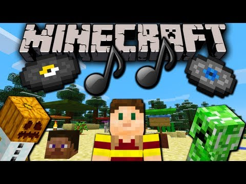 Minecraft 1.6 How to: Resource Packs! Change Sounds. Music. Textures. & More