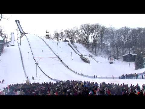 Norge Ski Jump in Fox River Grove, Illinois