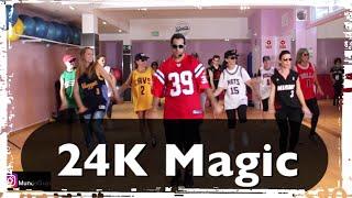 """Download Lagu 24K Magic (Bruno Mars) CoreoFitness """"Mundo Guyi"""" Gratis STAFABAND"""