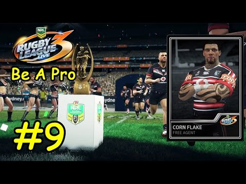 Rugby League Live 3 #9 - Corn Flake Be A Pro