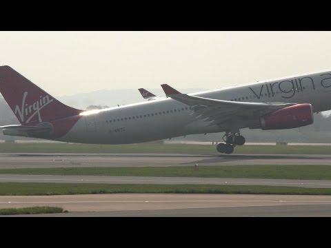 Virgin Atlantic A330 G-VNYC Flight 109 Manchester to Atlanta