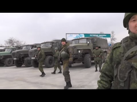 Russian Soldiers In Crimea Were Interviewed Vladimir Putin's Statement Refuting, March 4 2014