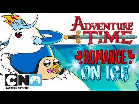 Время приключений | Ледяная любовь (геймплей) | Cartoon Network