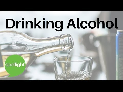 """Drinking Alcohol"" - practice English with Spotlight"