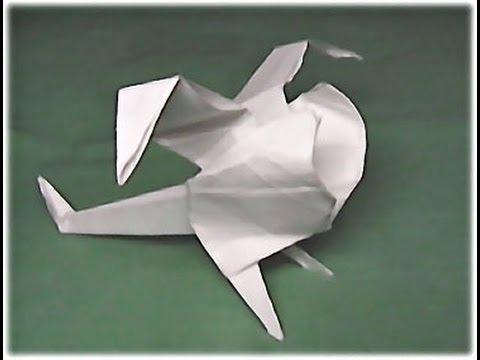 Вертолёт из бумаги