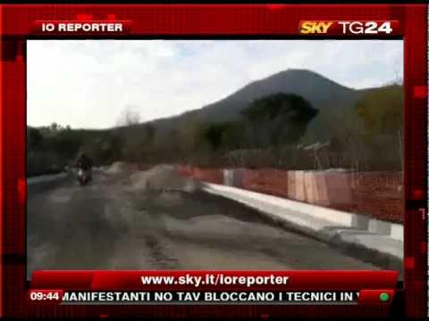 Io Reporter Sky Tg24  – Video amatoriale dalla discarica di Terzigno 12/01/2010
