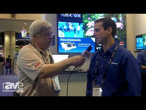 InfoComm 2015: Joel Rollins Speaks With Fadhl Al-Bayaty of Matrox About Mura IPX 4K Capture System