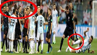 Argentina Vs Croatia World CUp 2018 all Football Fight