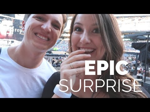 SURPRISING WIFE WITH TAYLOR SWIFT TICKETS!!