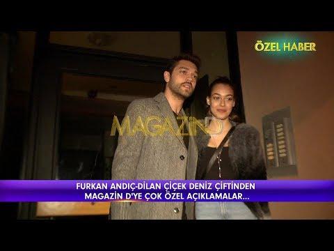 Magazin D - Furkan Andıç ve Dilan Deniz ilk kez el ele görüntülendi!