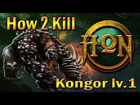 [HON] เอาคองเวล 1 - How 2 kill Kongor at Level 1 (TH)