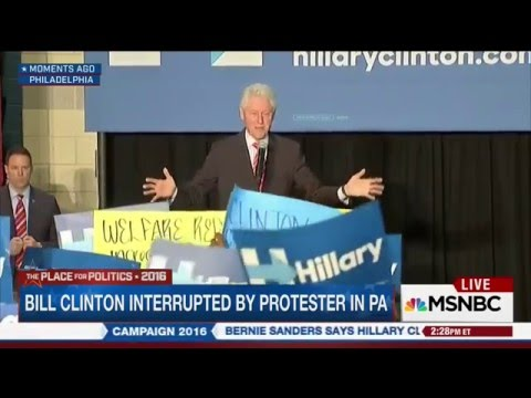 "Bill Clinton talks down to""Black Lives Matter"" like he talks to women"