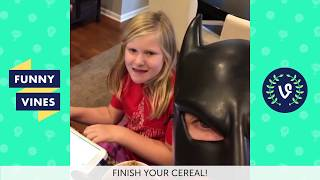 TRY NOT TO LAUGH or GRIN: BatDad Vines Compilation 2017 | Funny Vine