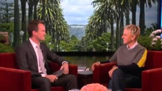 Neil Patrick Harris on His 40th Birthday on The Ellen Degeneres Show