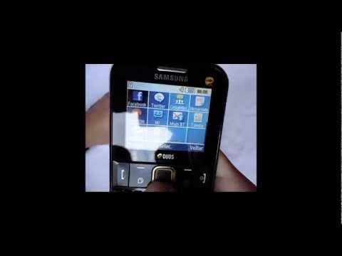 Speed Eletro- Samsung Ch@t 222 Desbloqueado 2 Chips GT-E2222 GSM Desbloqueado Sedex Grátis
