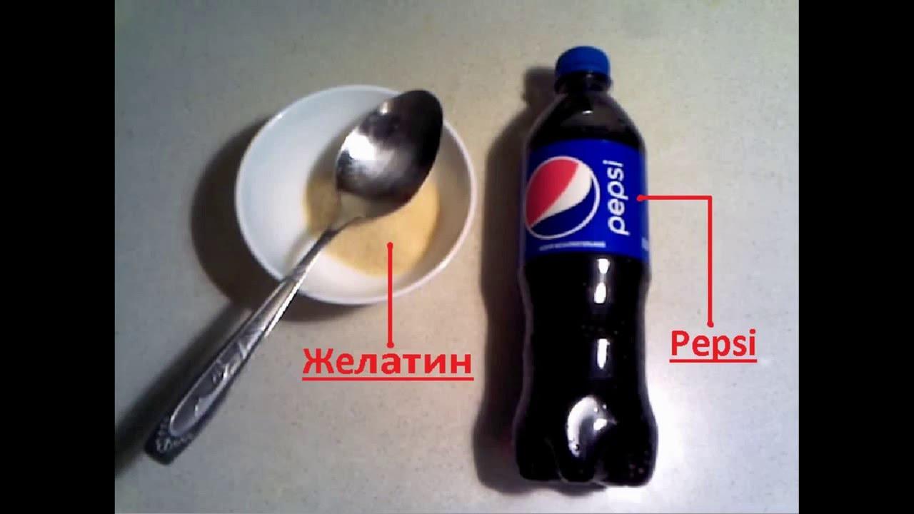 "Как сделать желейную ""Кока-Колу"". Рецепты 90"