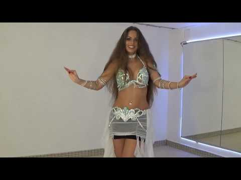 Isabella Belly Dance Drum Solos | HD